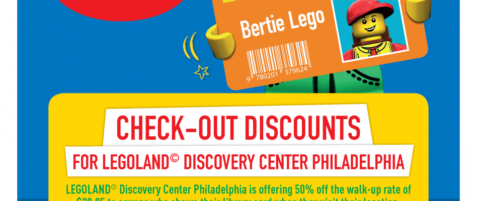 Half-Price Legoland Tickets With Library Card!