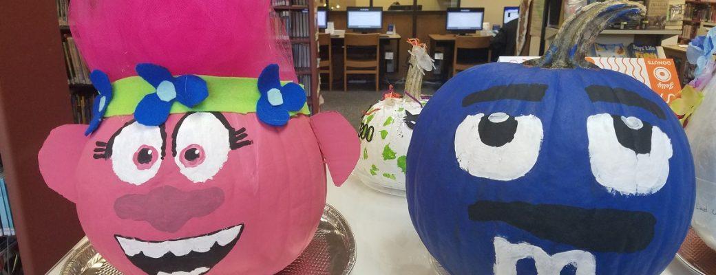 Annual Pumpkin Decorating Contest