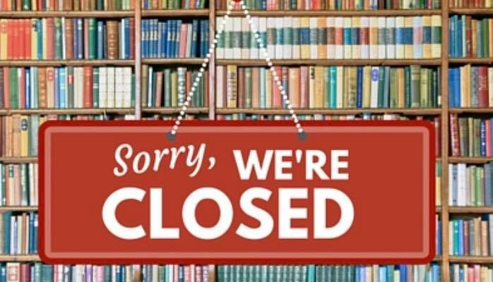 Library Closed – March 16, 2020 Until Further Notice